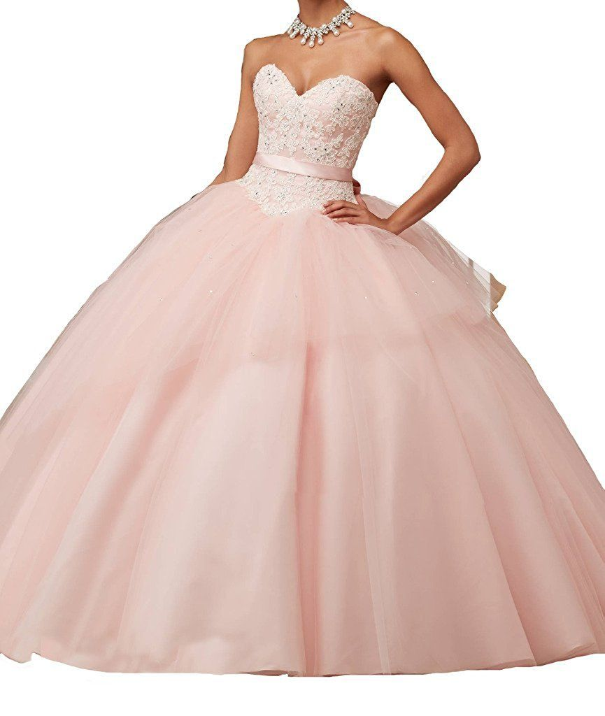 Jjl ball gown quinceanera dresses with bow tie sweetheart layered