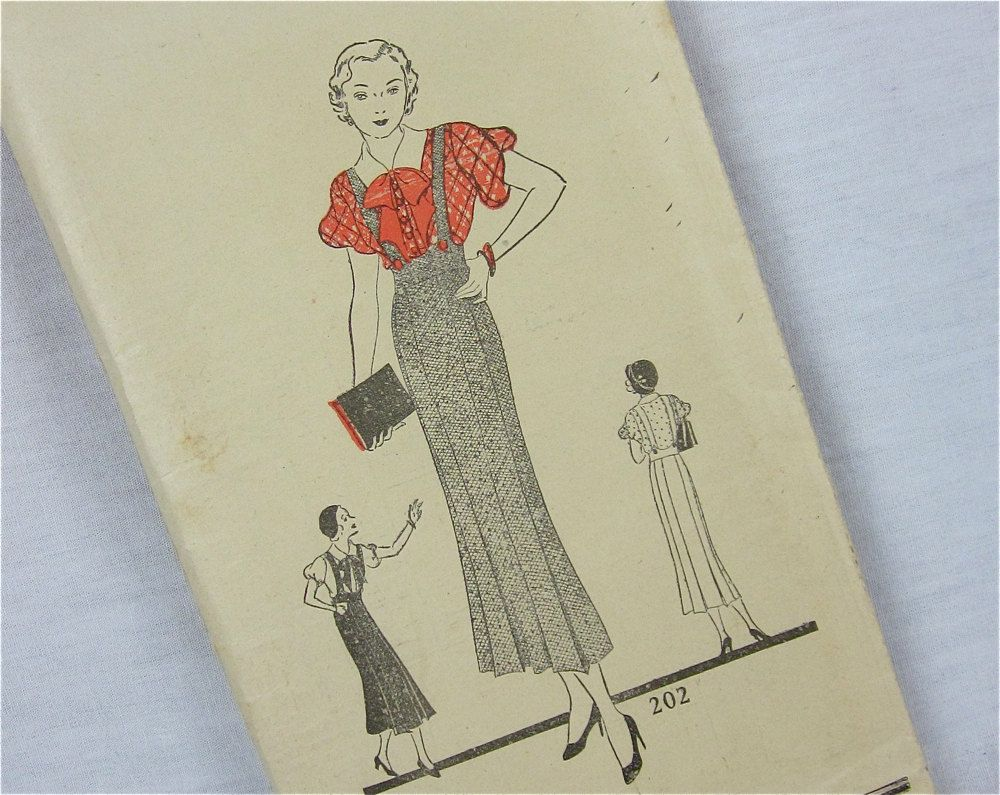 Vintage 1930s 40s blouse and jumper sewing pattern mail order vintage 1930s 40s blouse and jumper sewing pattern mail order 202 jeuxipadfo Choice Image