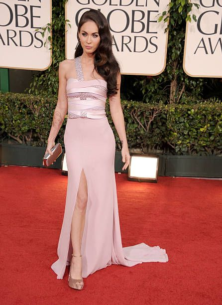 cc06e189c Actress Megan Fox arrives at the 68th Annual Golden Globe Awards held at  The Beverly Hilton hotel on January 16 2011 in Beverly Hills California