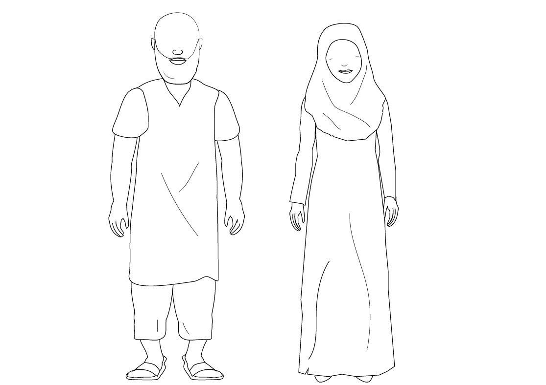 Activites Kleurplaten Ramadan
