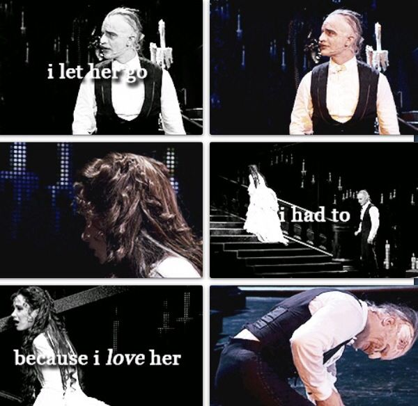 Beauty and the Beast collides with Phantom of the Opera
