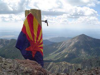Arizona Hiking: Humphreys Peak