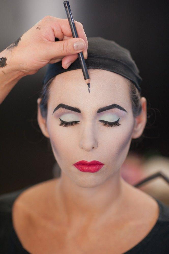 Maleficent Costume and Makeup Tutorial maquillaje de Maléfica