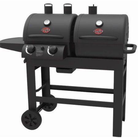 Char Griller Dual 2 Burner Gas Charcoal Combo Grill Walmart Com Gas And Charcoal Grill Gas Grill Outdoor Kitchen Design