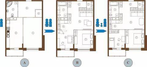переделка однокомнатной квартиры в двухкомнатную фото: 17 ...