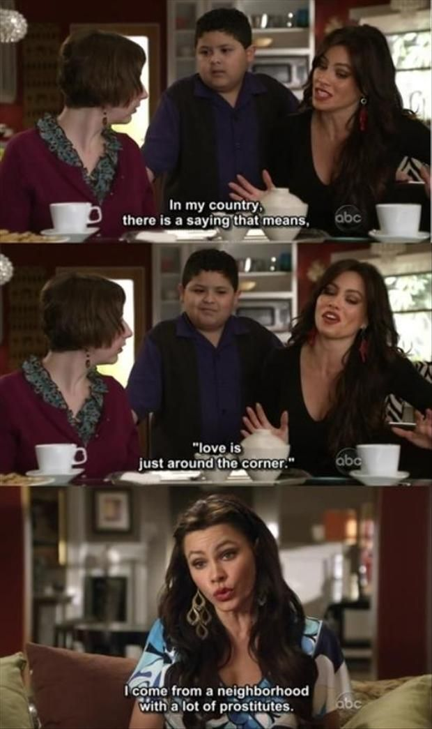 Funny Modern Family Pictures 20 Pics Modern Family Funny Modern Family Gloria Modern Family Memes
