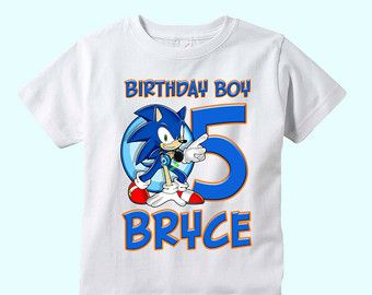 Sonic The Hedgehog X2f Printable Invitation With Photo Etsy Sonic Birthday Order Custom Shirts Sonic Party
