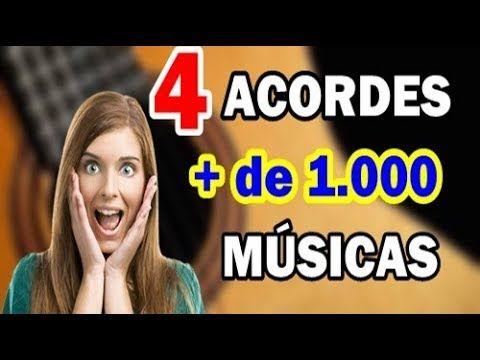 Toque Mais De 1 000 Musicas Com 4 Acordes Youtube Palavra Com