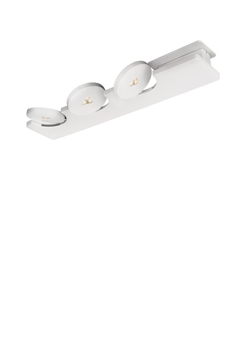 De Lirio by Philips Monete 3 spot LED is gemaakt van aluminium, de ...