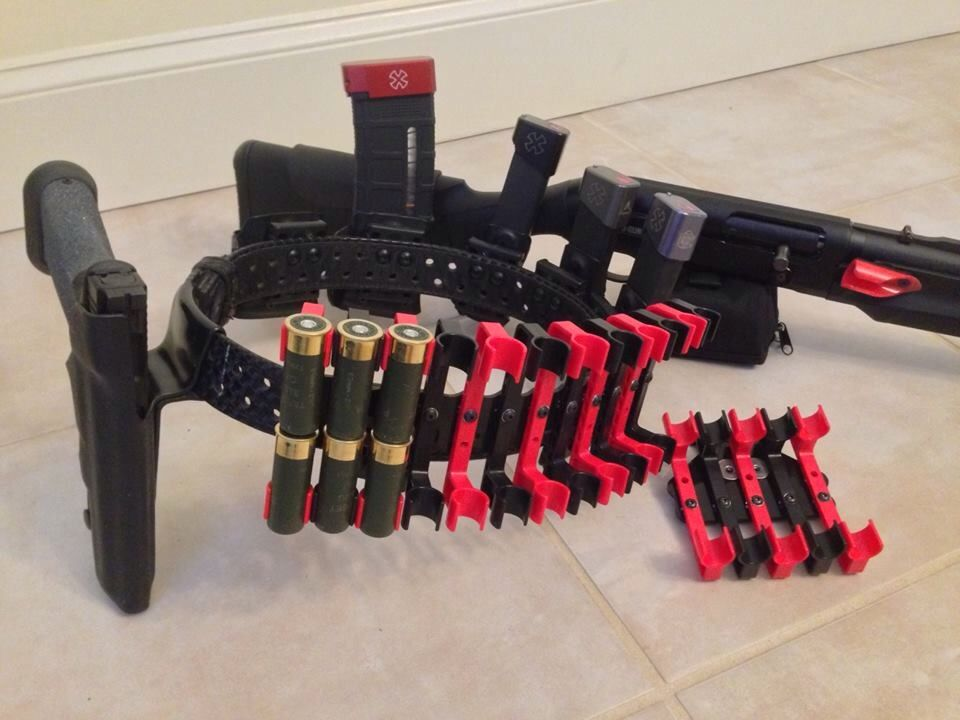 Capable Guide Gear Shotgun Ammo Belts Ammunition Belts & Bandoliers Three Belts. Holsters, Belts & Pouches