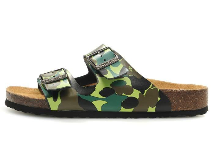 cc9e73d0beda Birkenstock Men s Arizona Green Camouflage Sandals