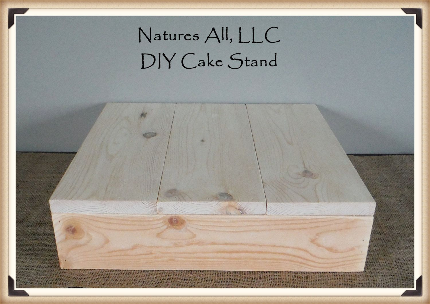 14 Diy Rustic Wedding Cake Stand Country Wedding Cake Stand