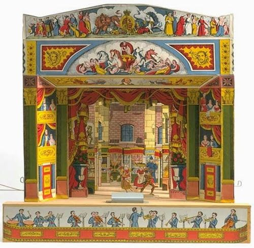 CASITA DE PAPEL: Dollhousepaper: Pollock´s Toy Theatre by Agjm Borms