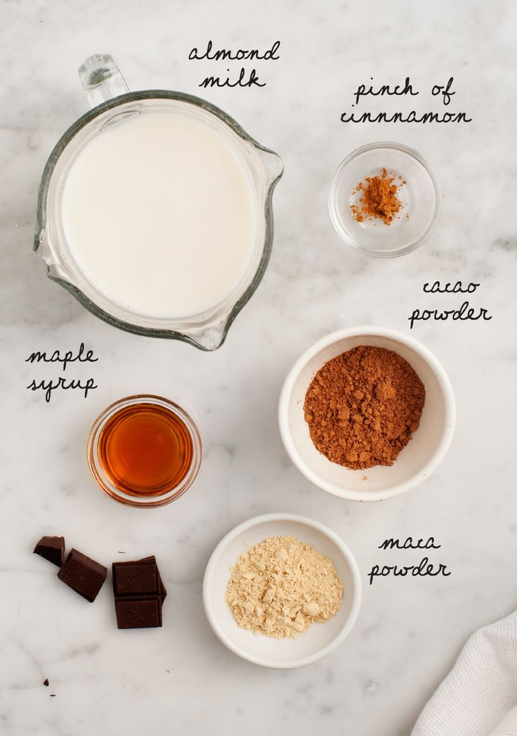 Maca Cacao Hot Chocolate #hotchocolaterecipe