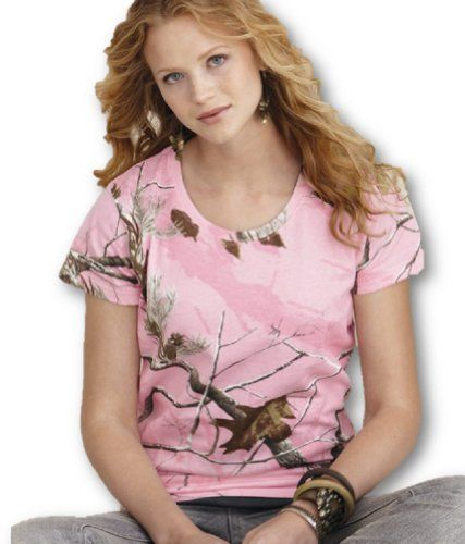 92aaa183 Real Tree Camouflage, Camouflage T Shirts, Camo Outfits, Realtree Camo, Pink  Camo