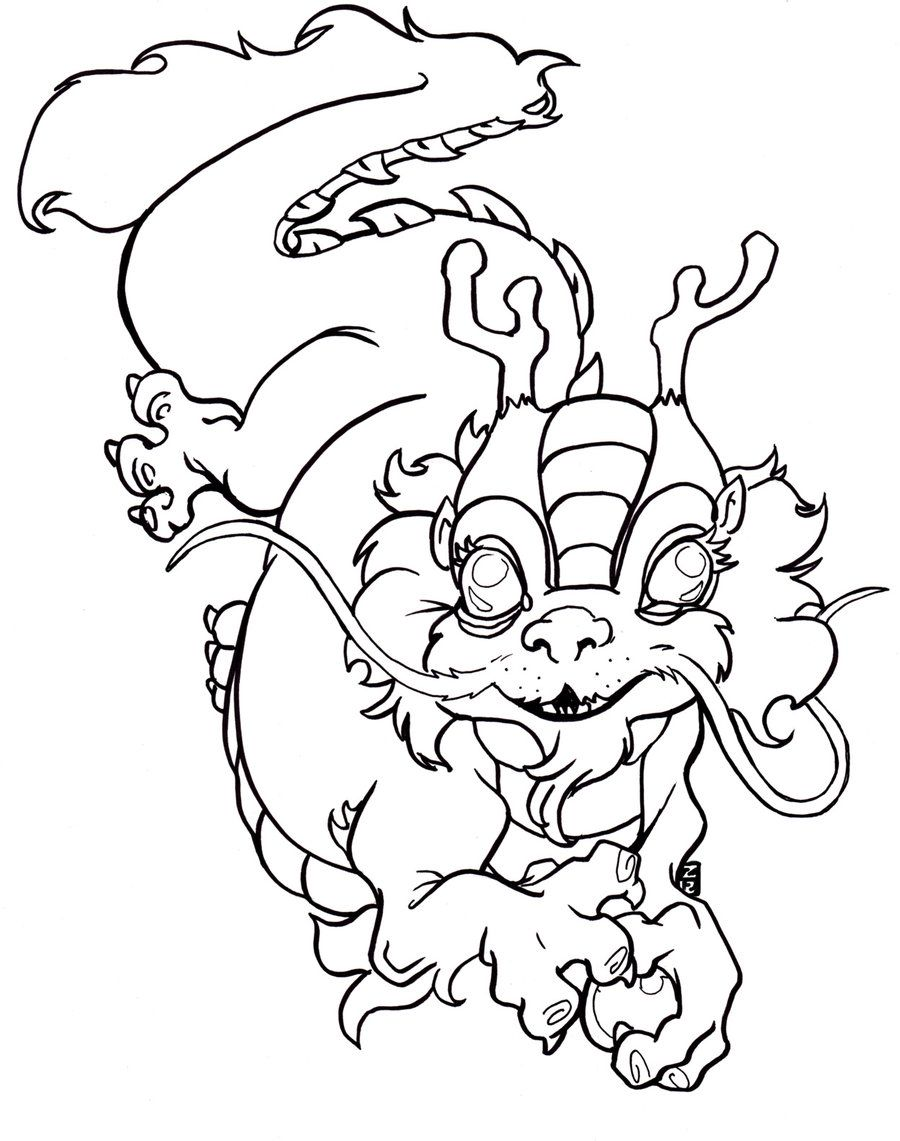 Chinese New Year Coloring Pages | para pintar | Pinterest | Pintar