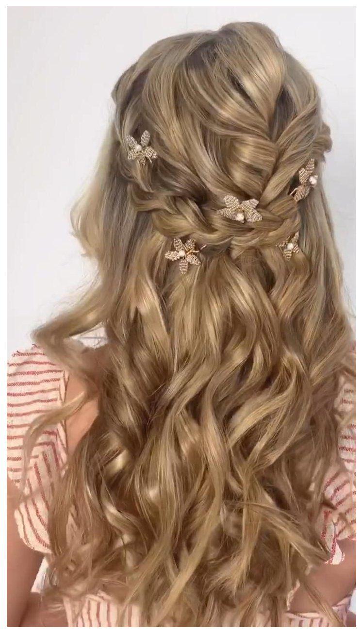 hairstyles for weddings bridesmaid