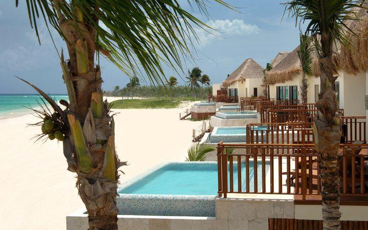 Best Mexico Beach Resorts Fairmont Mayakoba Playa Del Carmen