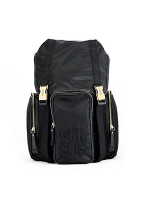 fd2a6bfdcc54 Versace - NYLON BACKPACK