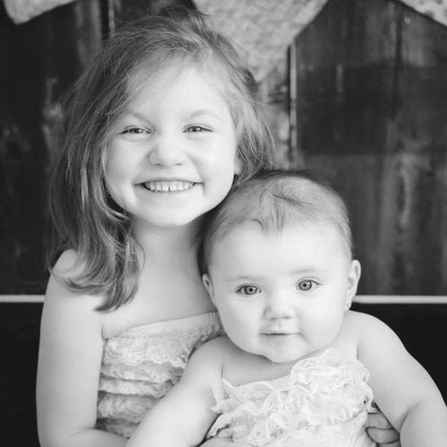 Lucy and Vivian <3 big girls - kids, sisters, girls, grandkids, family, love