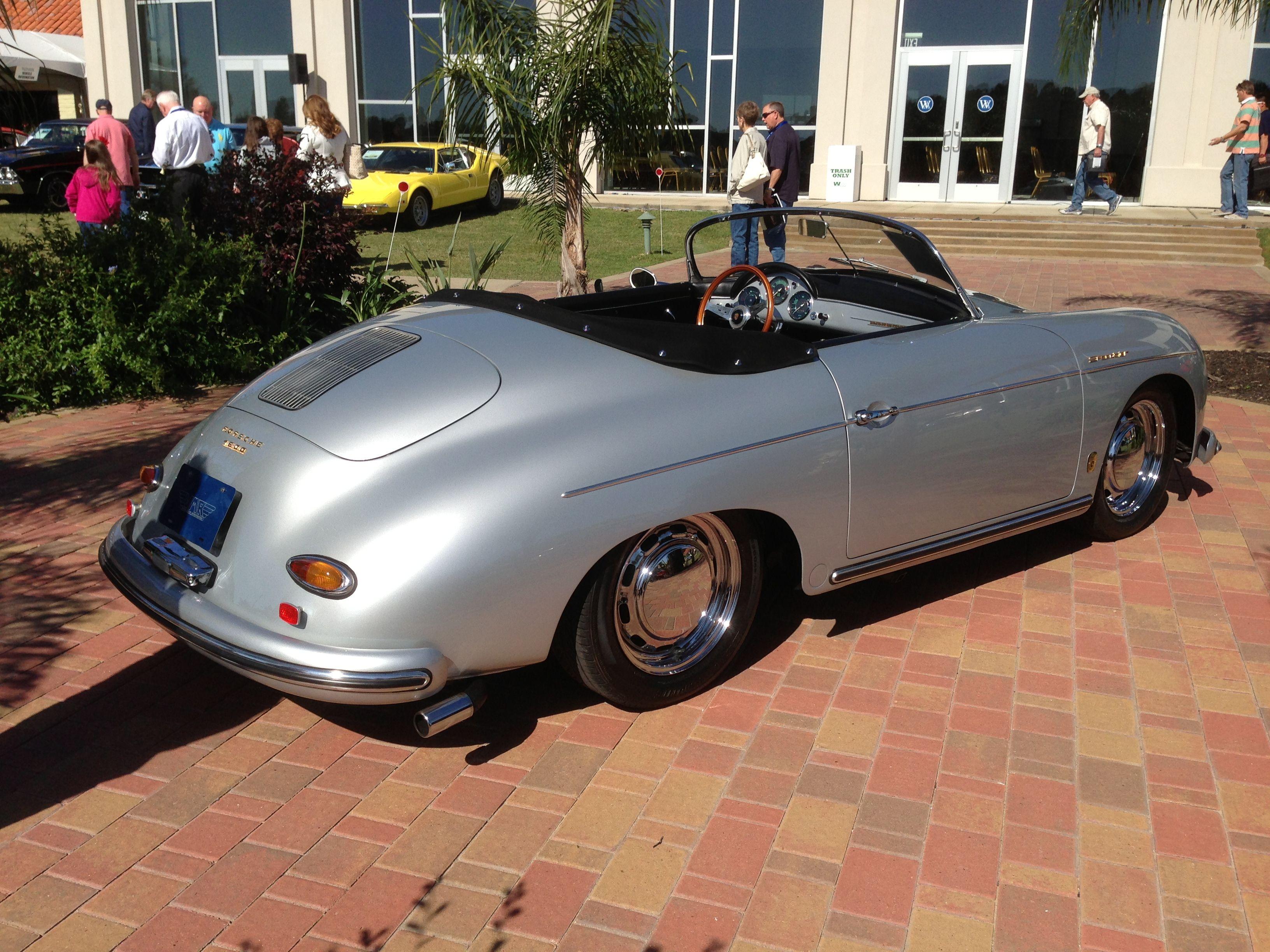 1958 Porsche 356A Speedster Estimated auction value $275,000. The ...