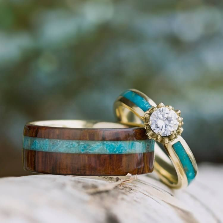 16++ Turquoise wedding ring set ideas in 2021