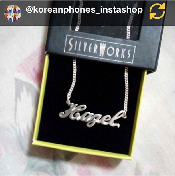 RG Koreanphones Instashop Advance Birthday Gift For Myself Frommemyselfandi Necklace Silverworks Rush Happykiddo Birthdaymonth Silverworksphil