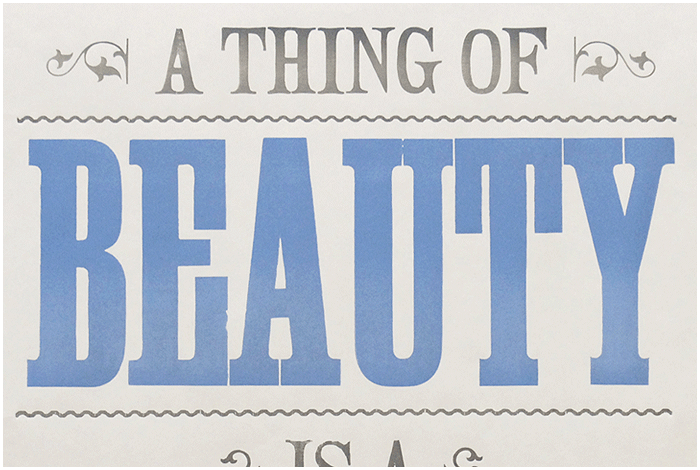 A thing of Beauty by Chase and Wonder
