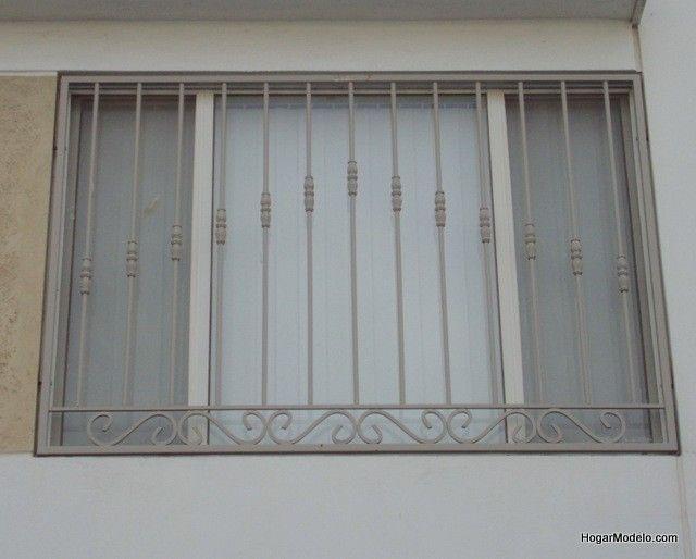 Imagen de dise o de verjas de hierro forjado de ventana - Verjas de hierro ...