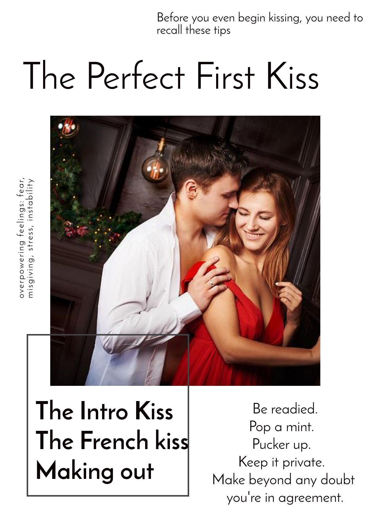How to make the first kiss perfect