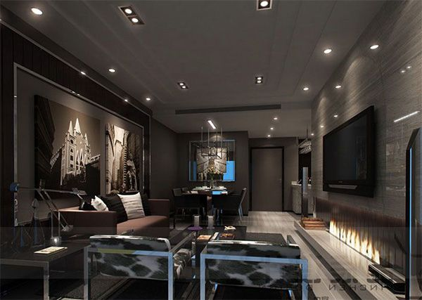 Top 10 Masculine Living Room Design Ideas Living Room Modern