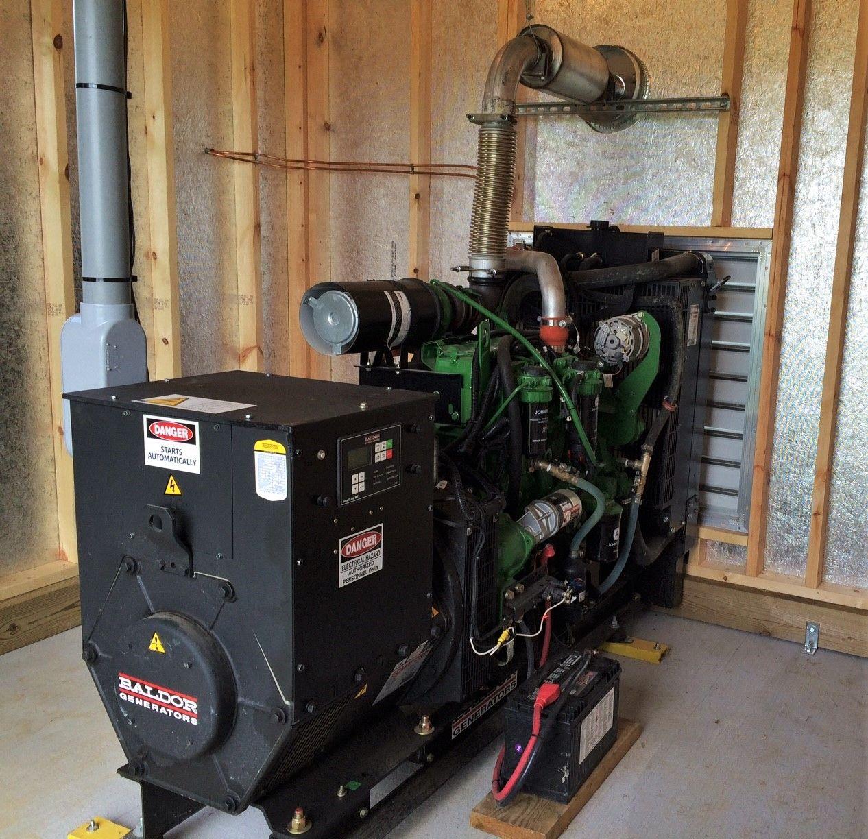 Poultry Generator Shed Gen Shed Install Byler Barns Generator Shed Shed Generator Installation