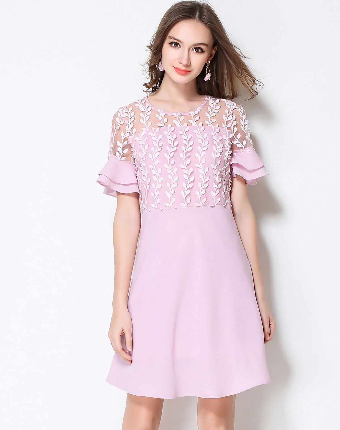 Adorewe vipme aline dressesdesigner meidongtai pink plus size