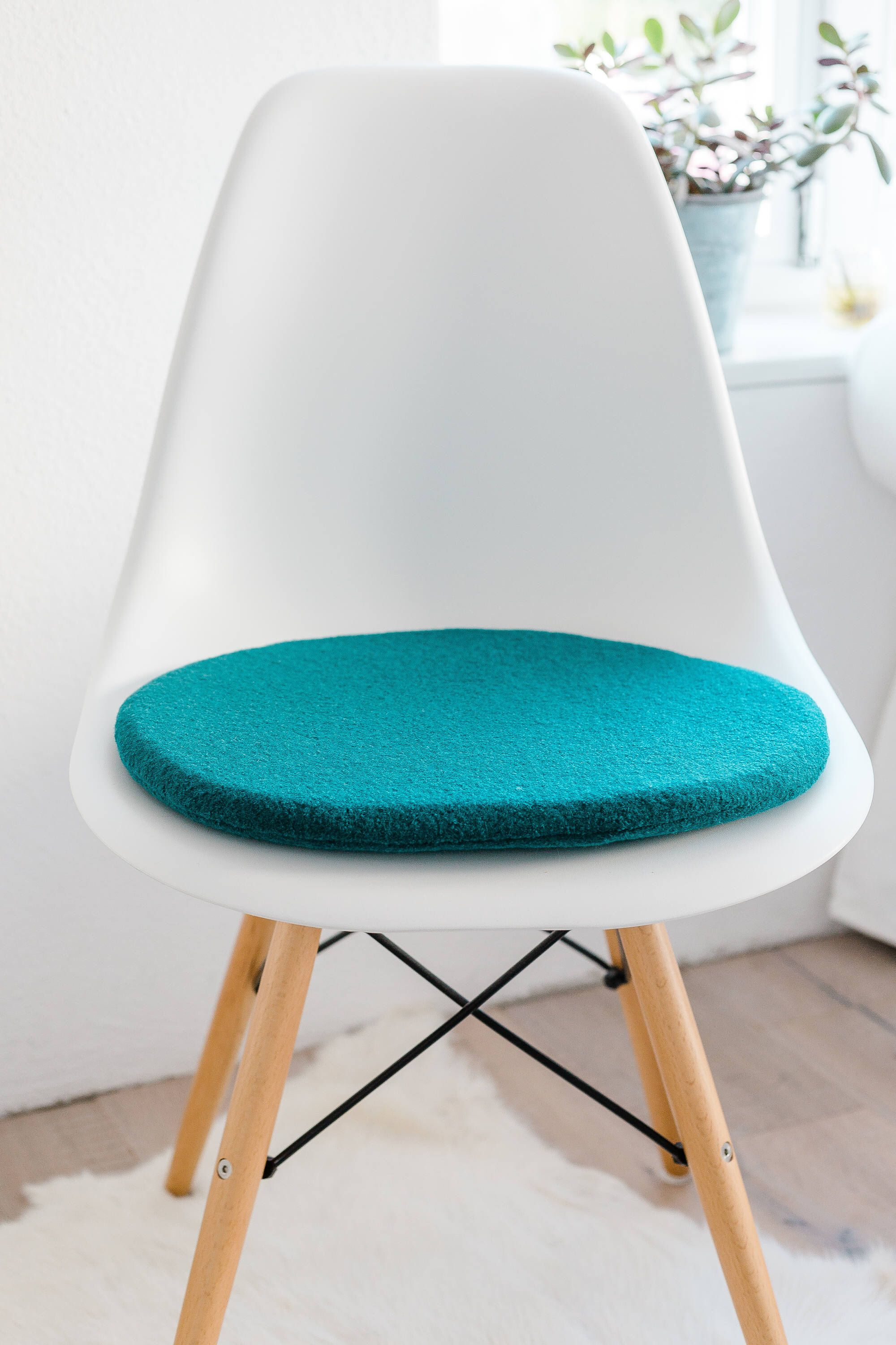 Chair Pillow For Eames Chair In Petrol, Limited In 2018 | Eames Sitzkissen  | Seat Cushions For Eames | Panton Chair Sitzkissen | Pinterest | Seat  Cushions, ...