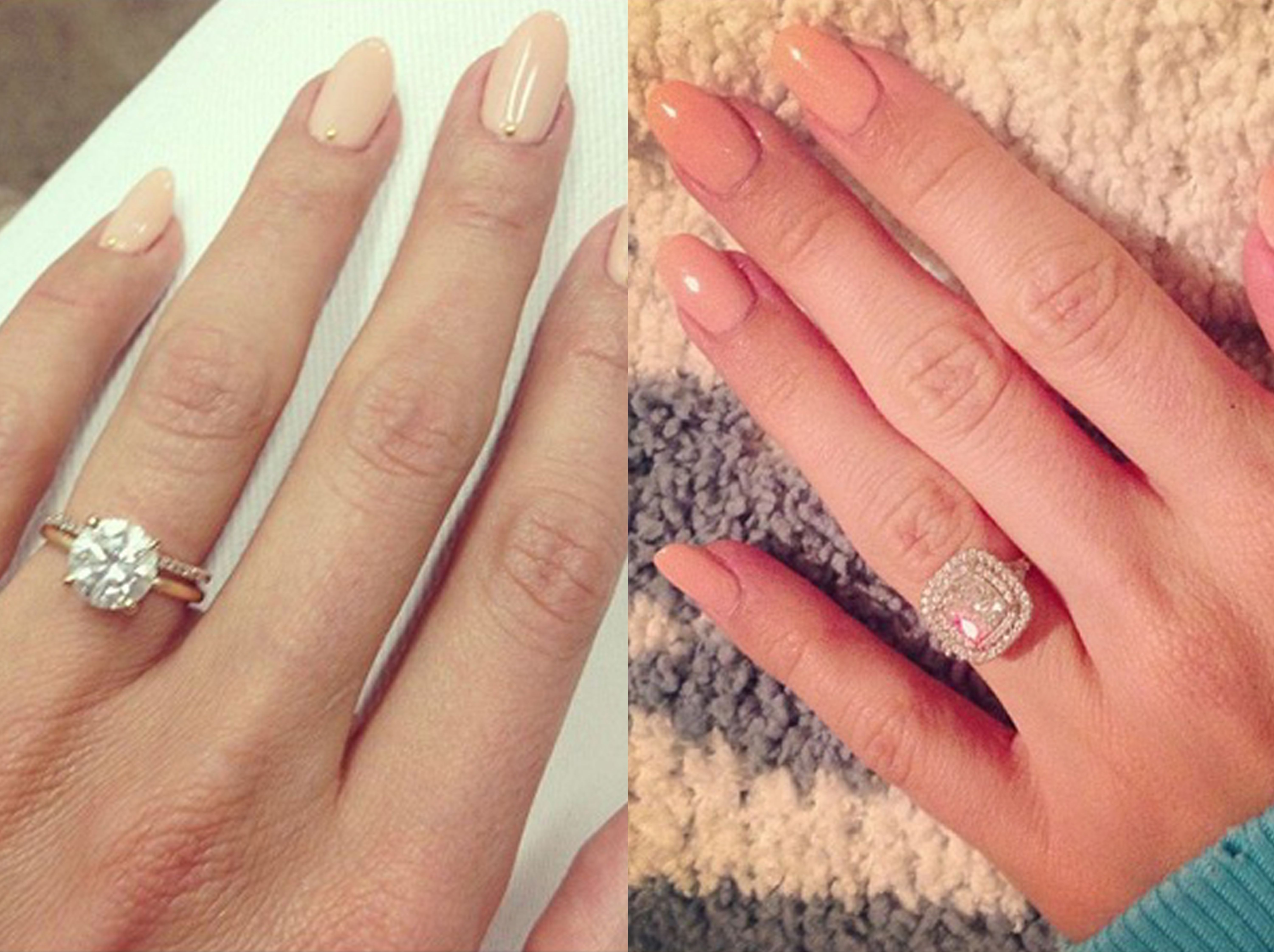 lauren conrad on left and another very lucky lady on the right - Lauren Conrad Wedding Ring