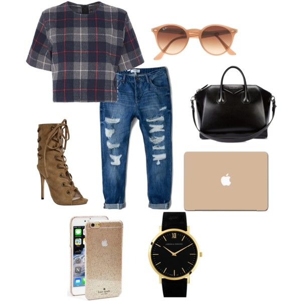 C by abby-ang on Polyvore featuring polyvore, fashion, style, rag & bone, MANGO, Givenchy, Larsson & Jennings, Ray-Ban and Kate Spade