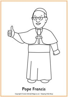 pope francis printables coloring pages learn to draw pope francis handwriting writing page worksheets etc