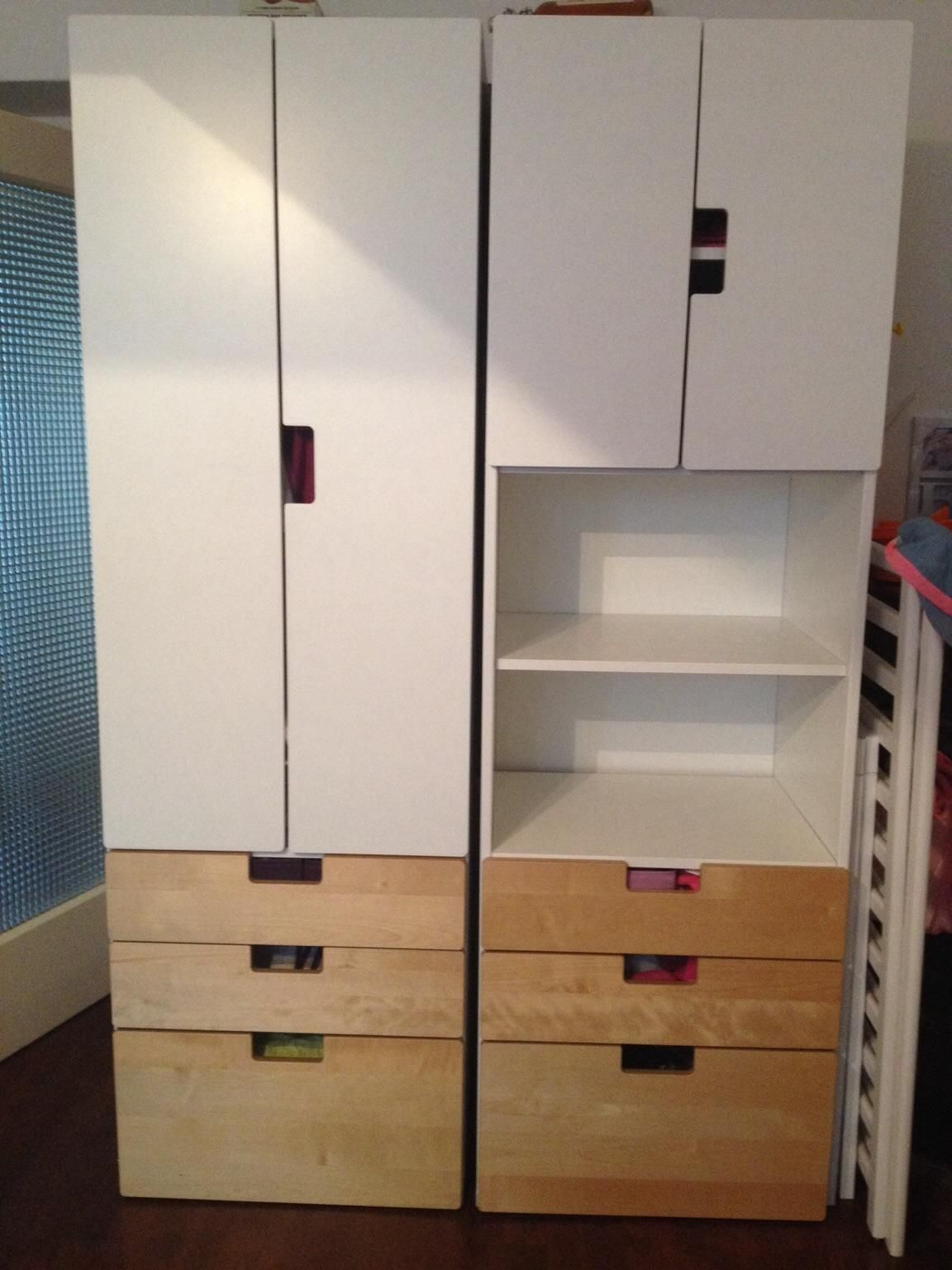 Ikea Kinderzimmer Kleiderschrank Stuva | Kid Friendly Spaces ...