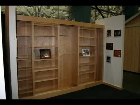 This Is The Best Sliding Bookcase And Wallbed System Ever Designed