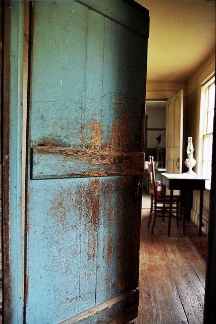 Blue Door By Ethel Decoracion Rustica Decoracion De Unas Rustico