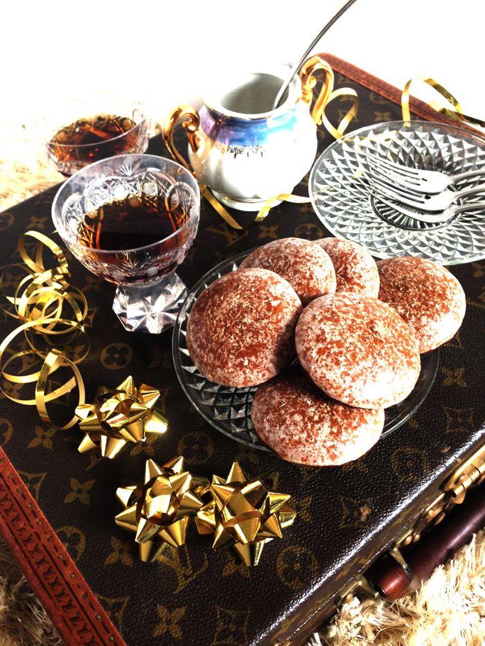 German Lebkuchen Christmas Biscuits