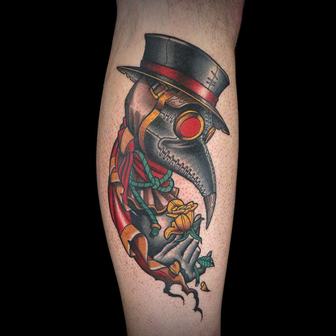 Doctor Plague Tattoo by Laura Marie Ink master tattoos