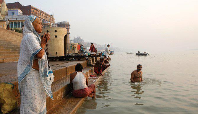 Varanassi, India.
