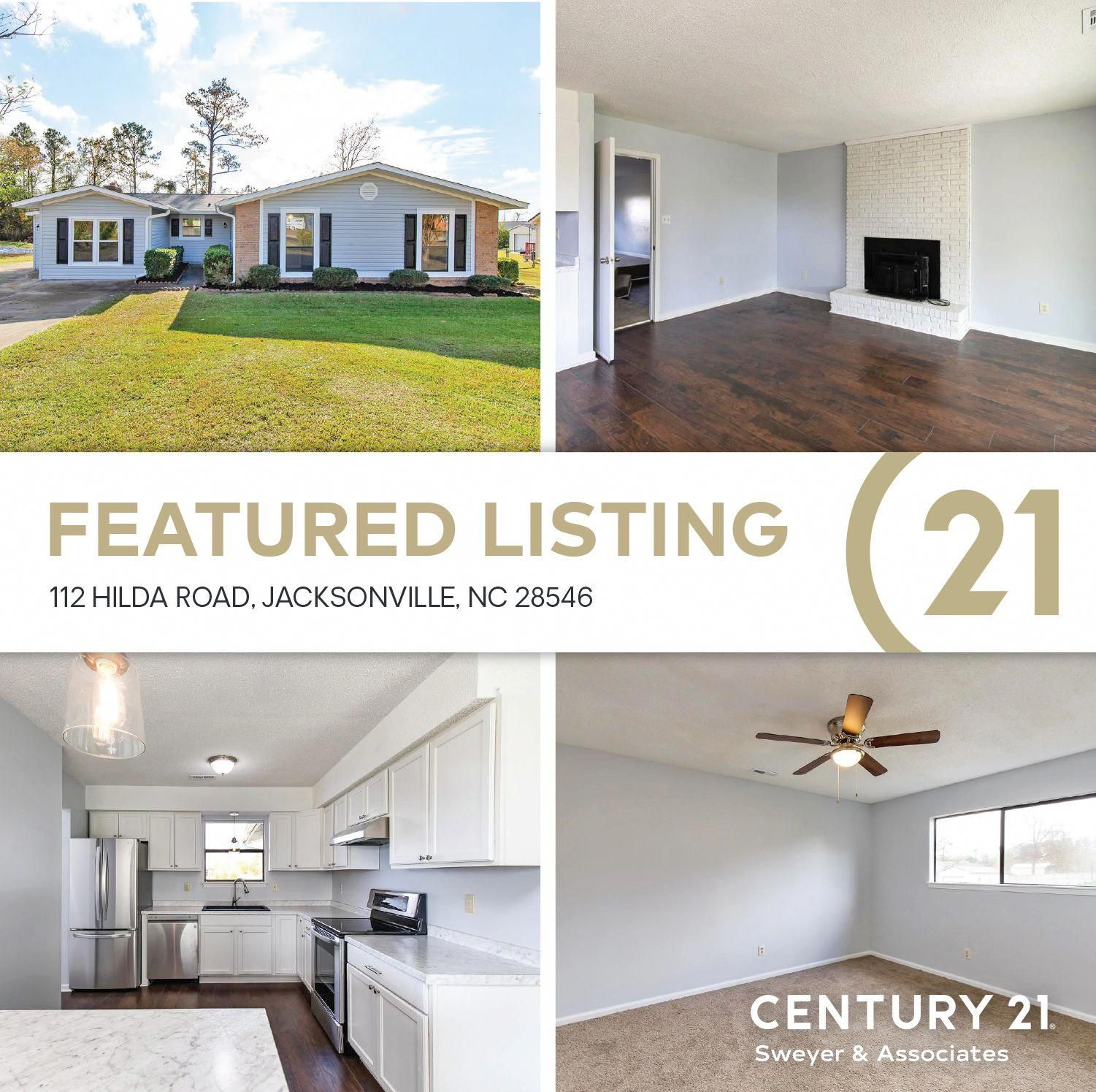 Century 21 Sweyer Ociates Presents 112 Hilda Road Jacksonville Nc 28546 Completely