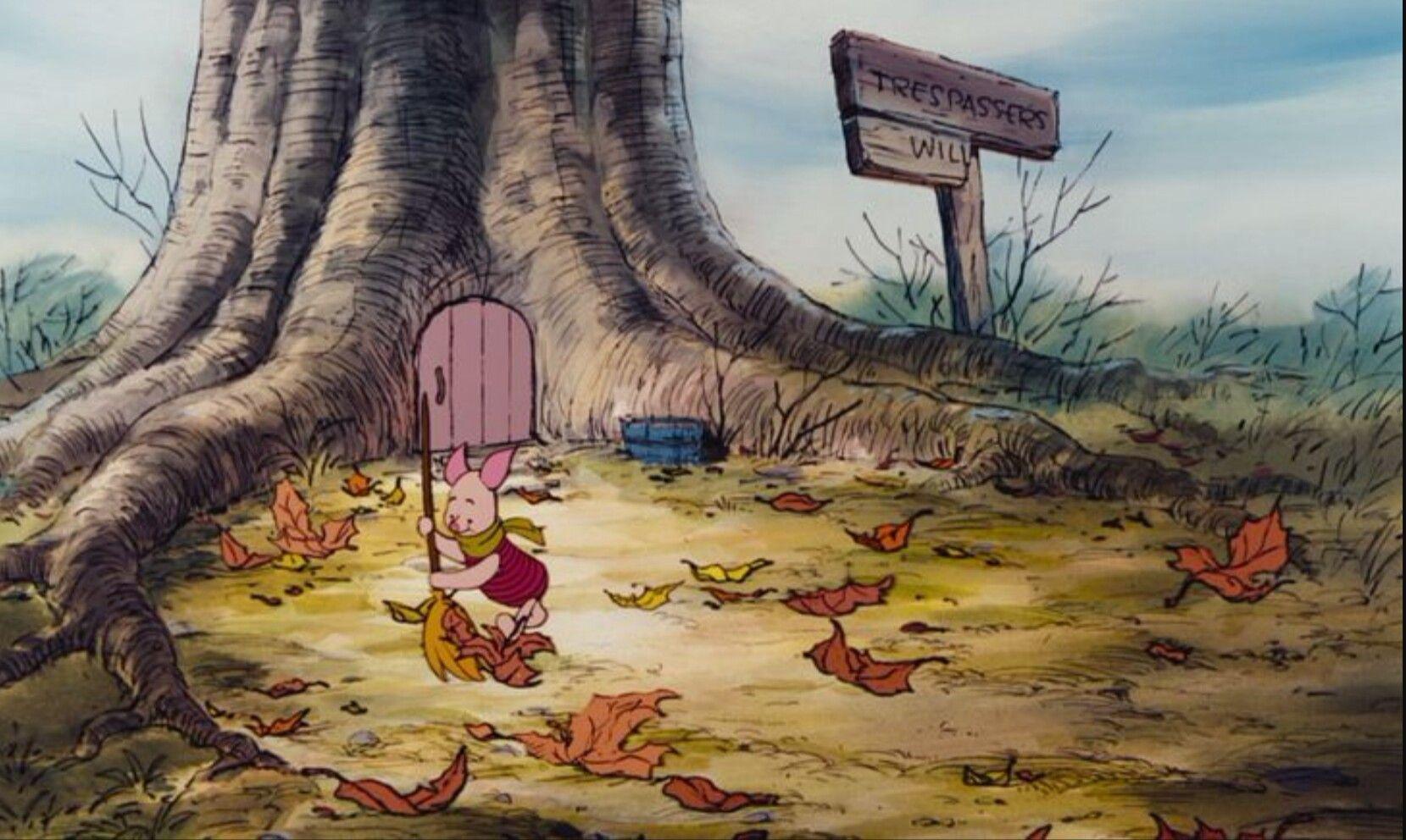 Winnie The Pooh Forest Background: Winnie The Pooh Background Art (с изображениями