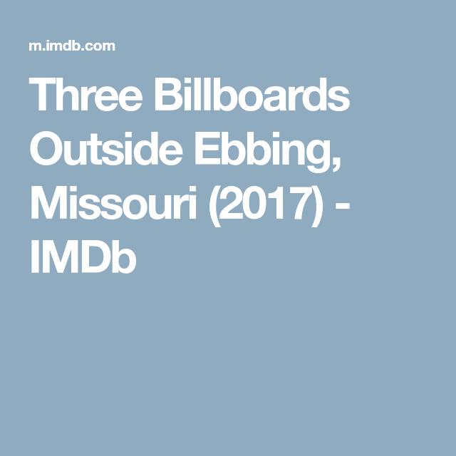 Three Billboards Imdb