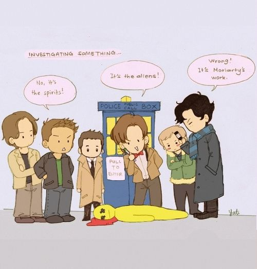 darlingbenny: superwholock i don't think they will work well together tbh <~nope