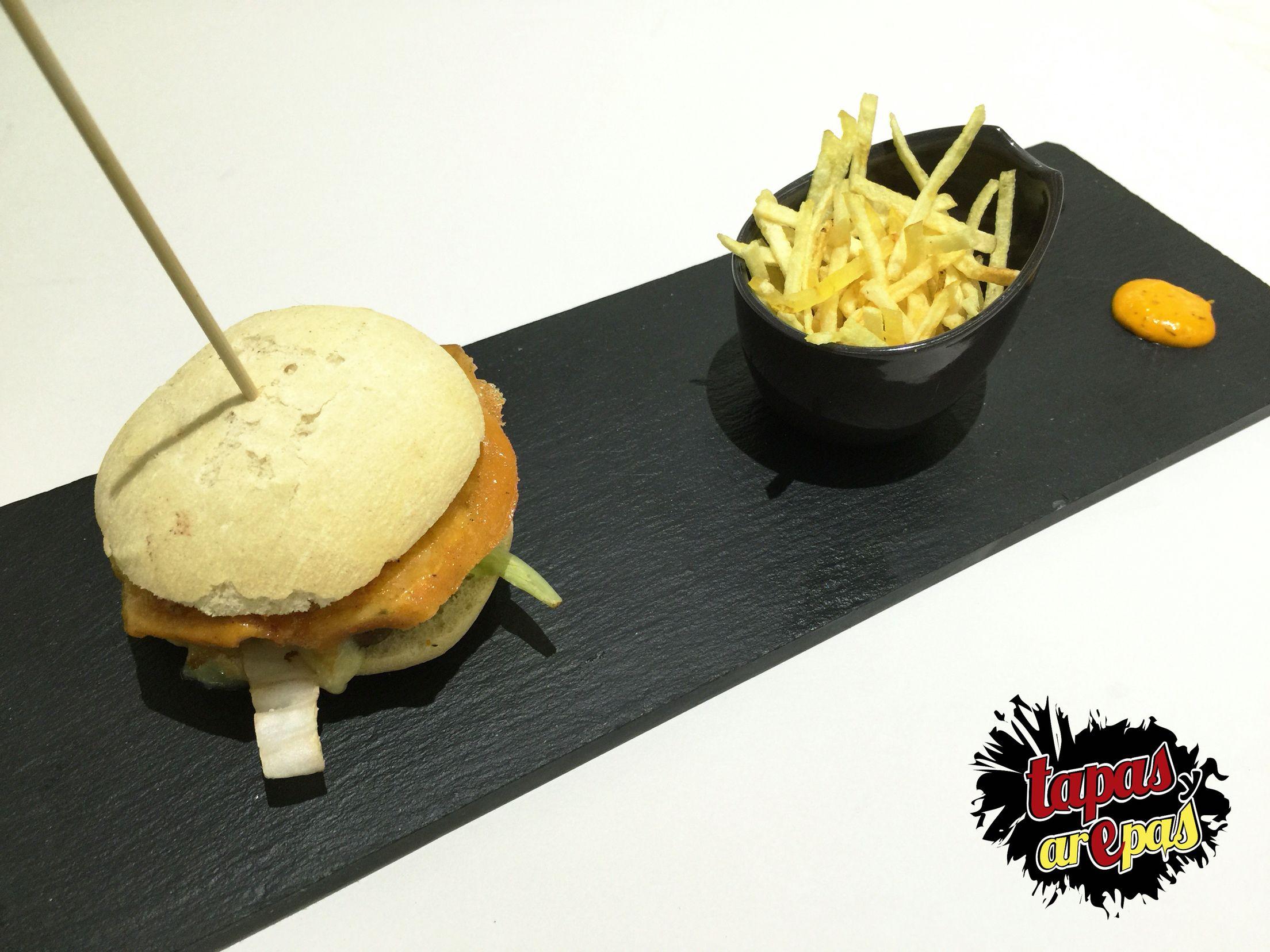 Nuestra hamburguesa Paisa