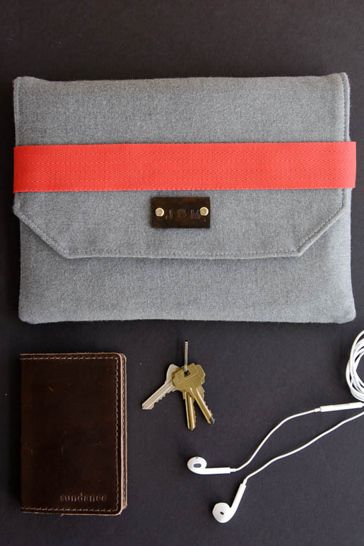 How To Sew a Wool iPad Case | WeAllSew