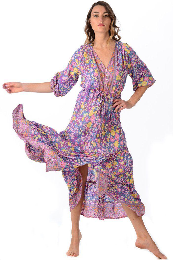 Carrie Dress / Amethyst – walker&wade